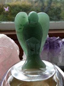 Jade Gemstone Crystal Angel